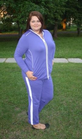 2-0304 Violeta sporta jaka