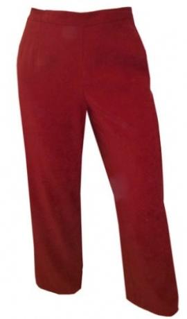 5-0122 Tumši sarkanas bikses