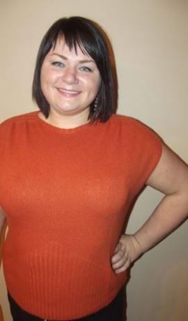 2-0197 Oranžs īsroku džemperītis