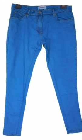 5-0269 Elektro zili skini džinsi