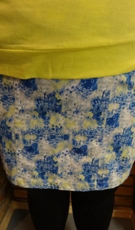 4-0096 Krāsaini auduma svārki