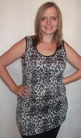 1-0291 Leopardraksta pelēks bezrocis