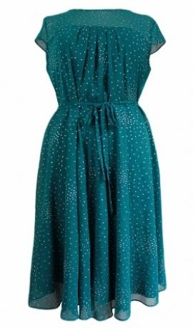 3-0095 Smaragda krāsa kleita