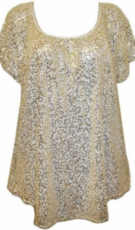 1-0378 Balts svētku topiņš ar spīdulīšiem