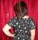 3-0248 Melna kleita ar jostiņu