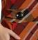 3-0373 Krāsaina tunikkleita ar kabatām