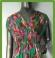 3-0321 Zaļa puķaina maxi kleita